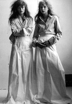 photography by Mario Testino/ styling by Carine Roitfeld/ Baby, baby / Vogue Italia May 1997