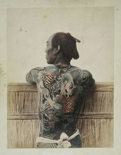 Japanese Man. 1880.