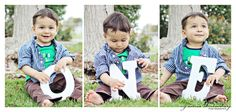 Baby boys first birthday. :) The letters were purchased at Micheal's craft store.     # one year old birthday pictures