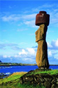 Easter Island – Pacific Ocean (Chile and Tahiti) Islands In The Pacific, Pacific Ocean, Tahiti, Places To Travel, Places To See, Places Around The World, Around The Worlds, Polynesian Islands, Easter Island