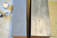 The Salvage Collection: reveal: faux zinc... the annie sloan way