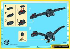 Make and Create - Long Neck Dino [Lego 7210]