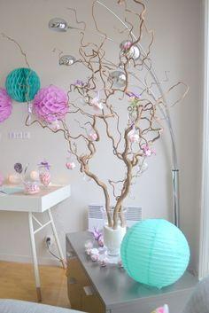 Joli arbre pour dragées baptème