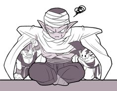 Piccolo, Goten & Trunks