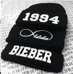 1994 beanie  Belieber beanie  Bieber beanie
