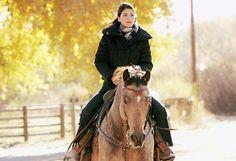 Winter riding.