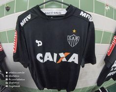 Terceira camisa preta do Atlético-MG 2016 Dryworld