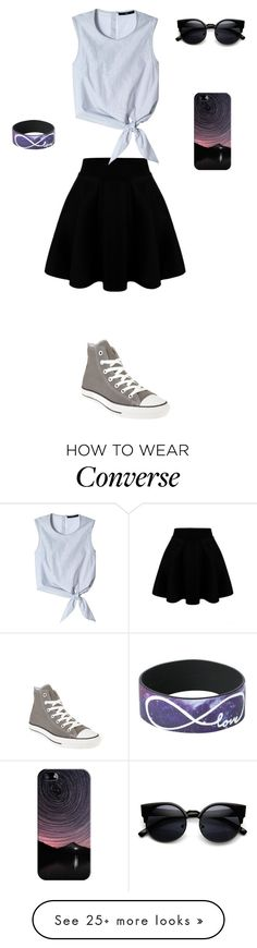 """""""I Can Handle Anything"""" by phoenix1053 on Polyvore featuring Converse, TIBI, Casetify, women's clothing, women, female, woman, misses and juniors"""