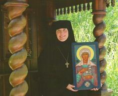 """Mother Abbess Alexandra of the Convent of St. Thekla at Antiochian Village will present the retreat, """"Create in Me a New Heart,"""" focusing on the Holy Spirit in our lives. She will bring together reflections on the actions of the Holy Spirit through salvation history from the Scriptures and the Fathers with emphasis on our practical, daily synergy with the Holy Spirit."""
