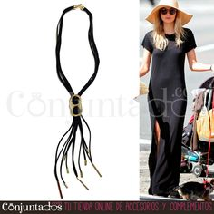 Un #collar negro de #ante perfecto para #casualoutfits y #streetstyles ★ Precio: 14,95 € en http://www.conjuntados.com/es/collar-con-tiras-de-ante-y-metal-dorado.html ★ #novedades #necklace #conjuntados #conjuntada #joyitas #jewelry #bisutería #bijoux #accesorios #complementos #moda #fashion #fashionadicct #picoftheday #outfit #estilo #style #GustosParaTodas #ParaTodosLosGustos