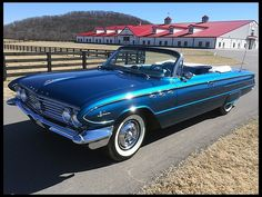 1961 Buick LeSabre Convertible HP, Automatic at Mecum Auctions Austin Martin, Jaguar, Vintage Cars, Antique Cars, Convertible, Automobile, Buick Envision, Buick Cars, Buick Lacrosse