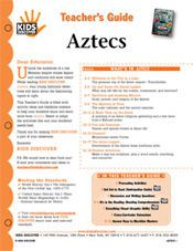 Free 12-page Printable Lesson Plan for Kids Discover Aztecs!