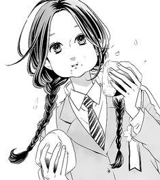 manga, hirunaka no ryuusei, and anime image Manga Girl, Manga Anime, Anime Art, Daytime Shooting Star, Shooting Stars, Manga Illustration, Character Illustration, Hibi Chouchou, Tsubaki Chou Lonely Planet