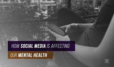 While there's very little evidence that social media is harmful in and of itself, the most serious danger comes in the intersection between social media platforms and people suffering from a mental illness. Social Media Digital Marketing, Social Media Tips, Social Networks, Content Marketing, For Your Health, Mental Illness, Mental Health, Insight, Blogging