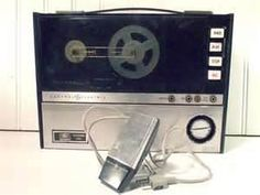 portable reel to reel....you know you had one =).