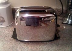 Vintage Tefal Toaster Thick N Thin Red Retro Mid Century