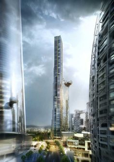 Un rascacielos que crece de forma natural