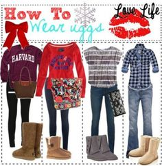 Super how to wear uggs with jeans winter sweaters 20 Ideas Vintage Style Wedding Dresses, Vintage Dresses, Fall Fashion Trends, Autumn Fashion, Uggs With Bows, Bow Uggs, Cute Outfits For School, Winter Sweaters, Cgi