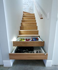 Shoe staircase