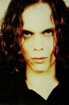 Ville Valo. The look in his eyes