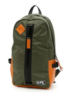 SUPE DESIGN DAY BAG INFINITY BACKPACK. #supedesign #bags #leather #lining #nylon #backpacks #