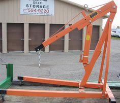2 Ton Shop Crane Cherry Picker by Central Hydraulics