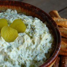 Dill Pickle Dip--the other recipe's link doesn't work anymore so here it is again