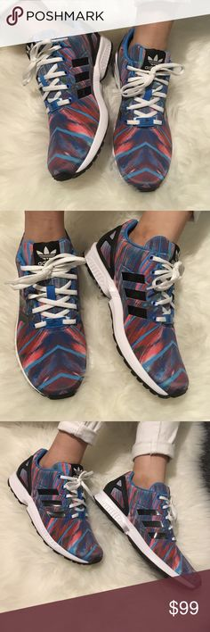 Adidas 6 Rainbow on Black Torsion Sneakers New without Box- Rare Hard To Find Sneakers adidas Shoes Sneakers