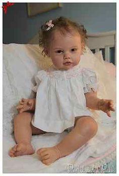 Custom Ella-Mae by Jannie De Lange Reborn by Sweet Little Bubs Nursery