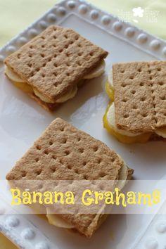 Banana Grahams - use sugar free pudding