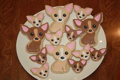 Chi Cookies, These are so cute they have to be good for your chi. :)