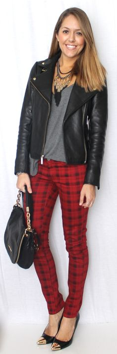 J's Everyday Fashion: Today's Everyday Fashion: Plaid Jeans
