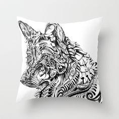 Dreamer Throw Pillow by René Campbell - $20.00