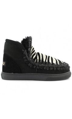 Mou Boots Mini Eskimo Sneaker Women Black