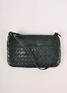 Bottega Veneta Crossbody with Signature basket weave – Luxury Garage Sale