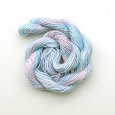 Hand dyed cotton perle 5 embroidery thread 20m by therainbowgirl, £2.00