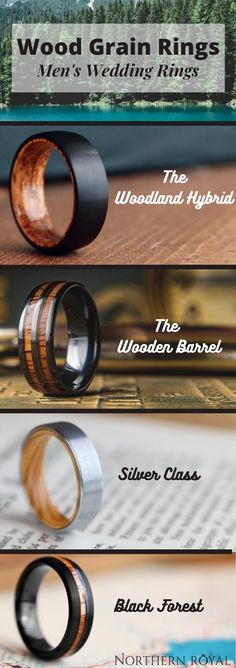 Men's Unique Wedding Rings! These wooden rings are crafted out of the most durable materials. Inlaid with natural koa wood. These wooden wedding ring are perfect for those who love the great outdoors. So many wooden rings to pick from! All these wooden rings are 100% waterproof. #mensweddingrings #mensweddingband #woodenrings #woodenweddingrings Perfect Wedding, Fall Wedding, Rustic Wedding, Our Wedding, Dream Wedding, Wedding Ideas, Wedding Stuff, Wedding Goals, Wedding Planning
