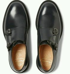 #Church's #'lambourn' men #double monk shoes black uk size 10f,  View more on the LINK: http://www.zeppy.io/product/gb/2/191789341428/