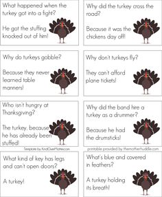 Thanksgiving Jokes Set 2