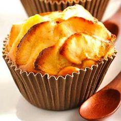 Receta fácil de Cupcakes de Manzana y caramelo. Aprende cómo preparar la receta básica de Cupcakes de Manzana y caramelo y cómo decorar los cupcakes.