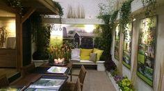 Lounge bank @tuinbeurs