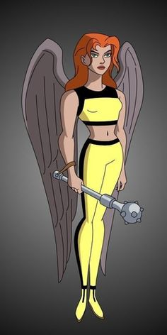 Image result for justice league unlimited hawk girl