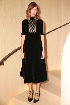 Alexa Chung in Valentino. See the best LBD frocks on BAZAAR: