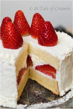 Best strawberry shortcake idea!
