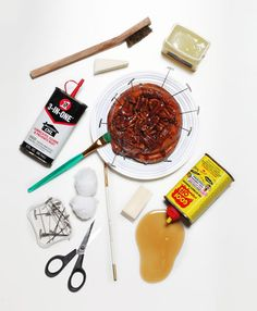 tools of a food stylist.