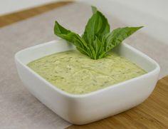 Pesto Cream Sauce / @DJ Foodie / DJFoodie.com