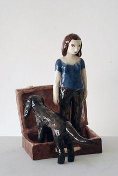 Lustik - Sculptures by Clementine de Chabaneix -  Antonine...