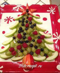Картинки по запросу фруктовая нарезка оформление к новому году