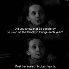 ...of broken hearts