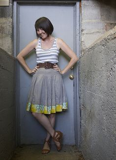 28 June 2010 | Tank: Target Belt: Gap Outlet Skirt: Ruche.co… | Flickr